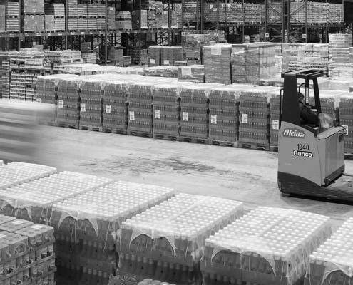 logistics and warehouses