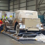 Air freight classic cars
