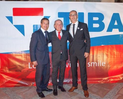 Justin Facey (TIBA Mexico), Francisco Romeu, Sebastien Deleu (TIBA Portugal)