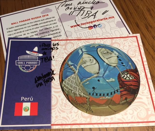 Transporte aéreo de la Ball Parade Russia 2018